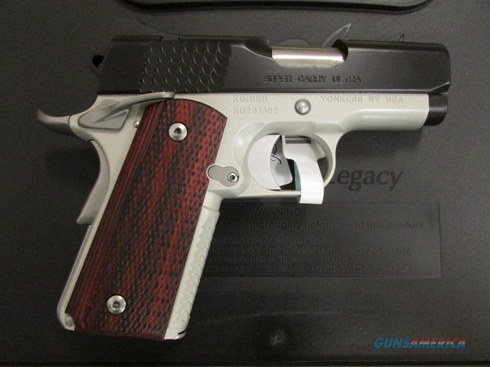 Kimber Super Carry Ultra Officer's-Size 1911 .45 ACP Guns > Pistols >  Kimber of America Pistols > 1911