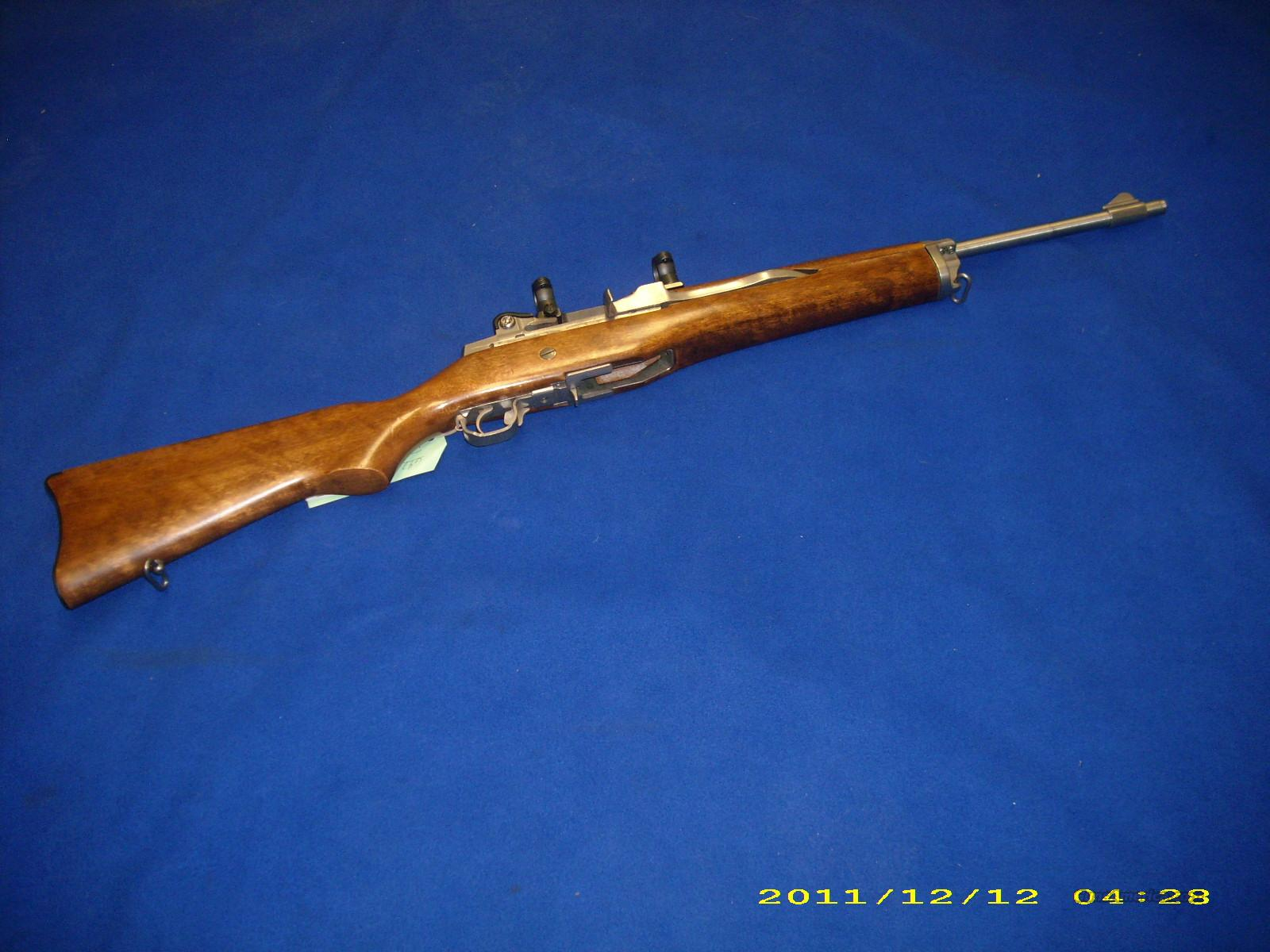 Ruger Mini 14 223 Cal  Guns > Rifles > Ruger Rifles > Mini-14 Type