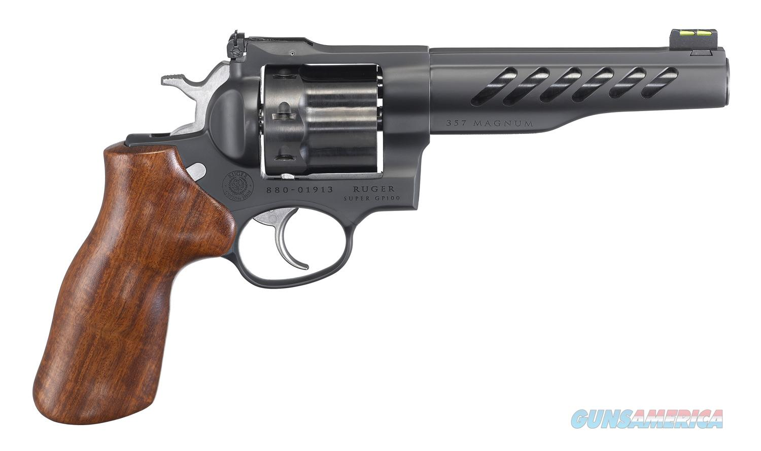 "Ruger Super GP100 Competition Custom .357 Mag 5.5"" 5065   Guns > Pistols > Ruger Double Action Revolver > GP100"