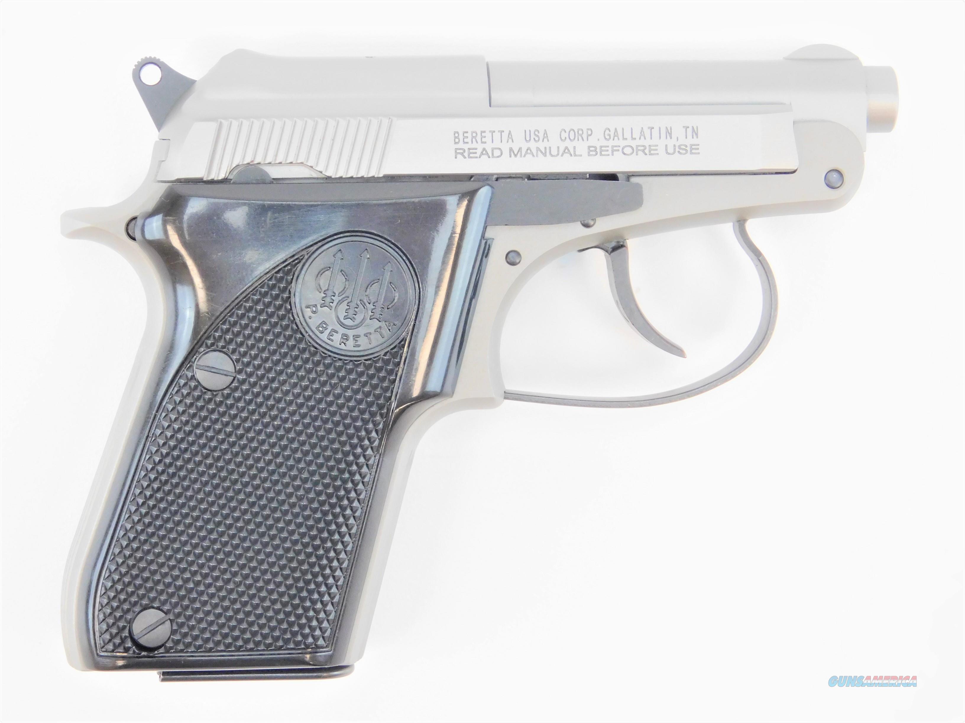 "Beretta 21 Bobcat Inox .22 LR 2.4"" 7 Rds J212500   Guns > Pistols > Beretta Pistols > Small Caliber Tip Out"
