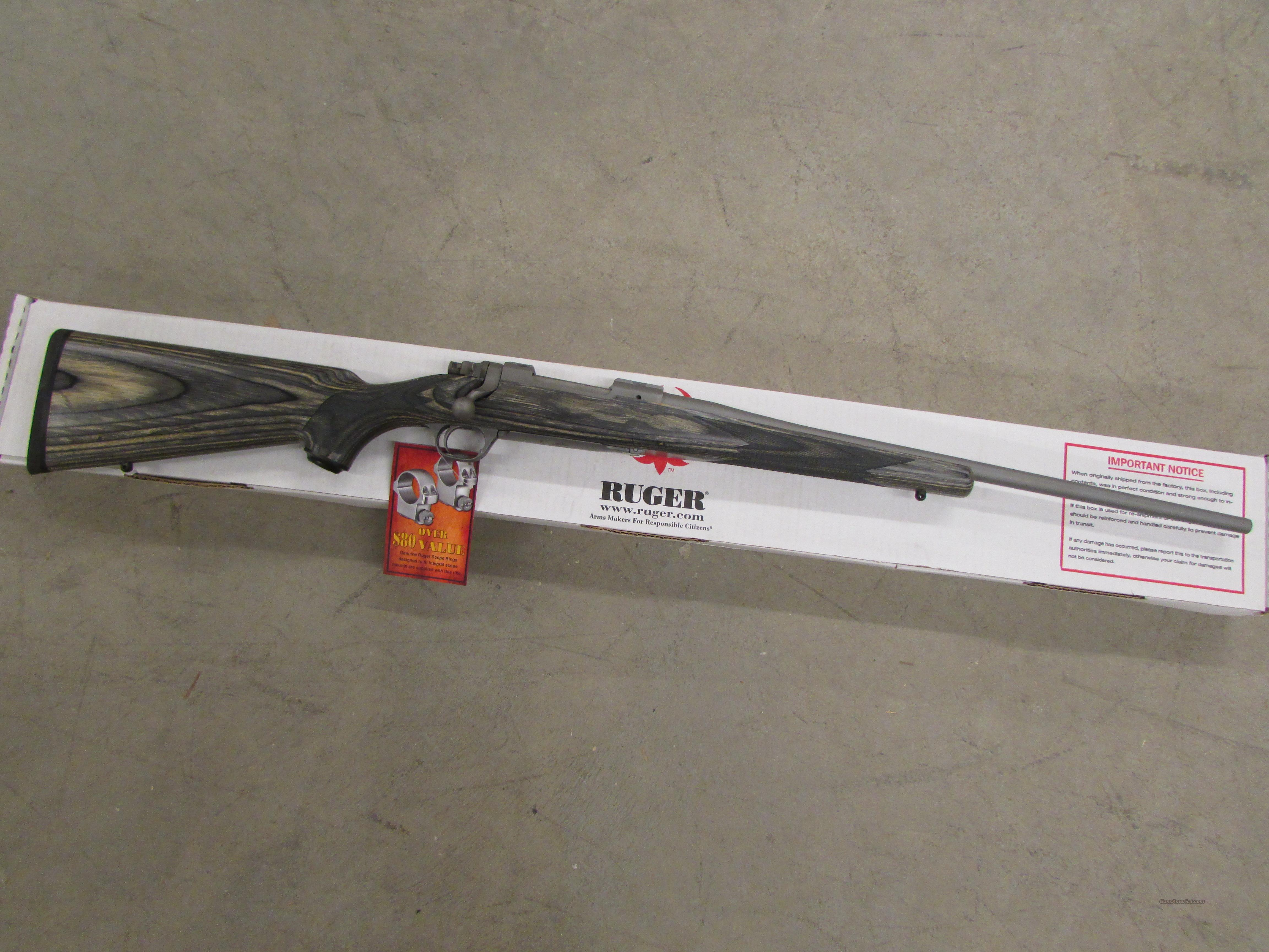 "Ruger M77 Hawkeye Stainless Laminate .308 Winchester 22""  Guns > Rifles > Ruger Rifles > Model 77"