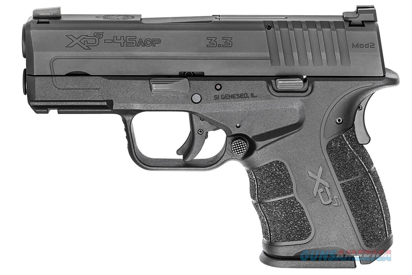 "Springfield Armory XD-2 Mod.2 .45 ACP 3.3"" Pro-Glo XDSG93345BT  Guns > Pistols > Springfield Armory Pistols > XD-S"