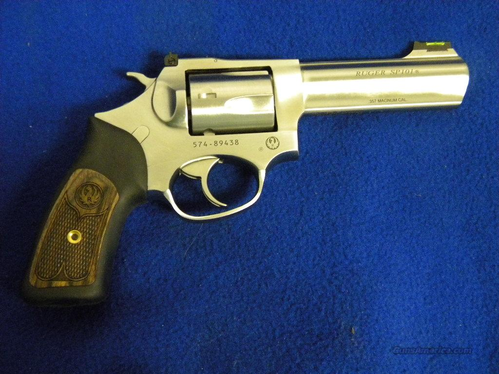 Ruger SP101 .357 Magnum Model 5771  Guns > Pistols > Ruger Double Action Revolver > SP101 Type