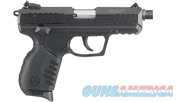 "Ruger SR22 Black .22 LR 3.5"" TB 10 Rounds 3604   Guns > Pistols > Ruger Semi-Auto Pistols > SR Family > SR22"