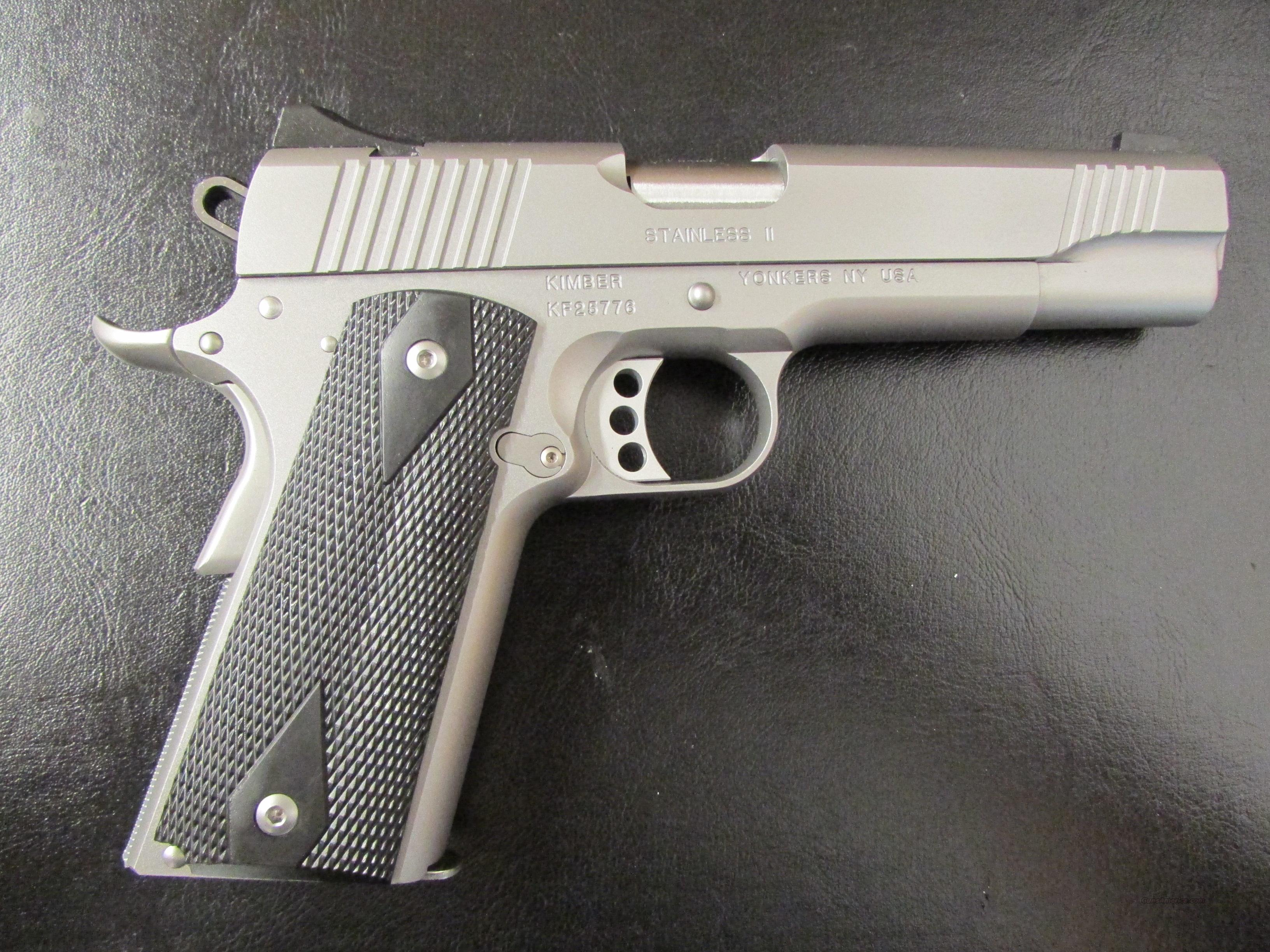 Kimber Custom Stainless II 9mm 1911  Guns > Pistols > Kimber of America Pistols