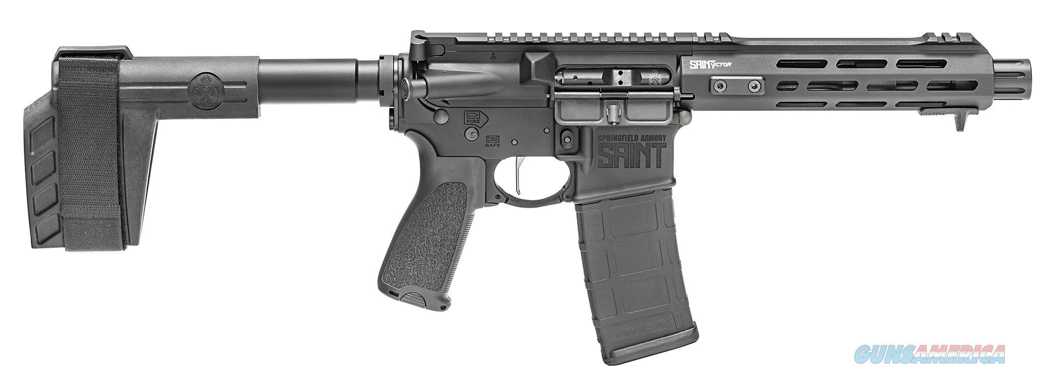 """Springfield Saint Victor 5.56 NATO 7.5"""" STV975556B   Guns > Pistols > Springfield Armory Pistols > SAINT Pistol"""