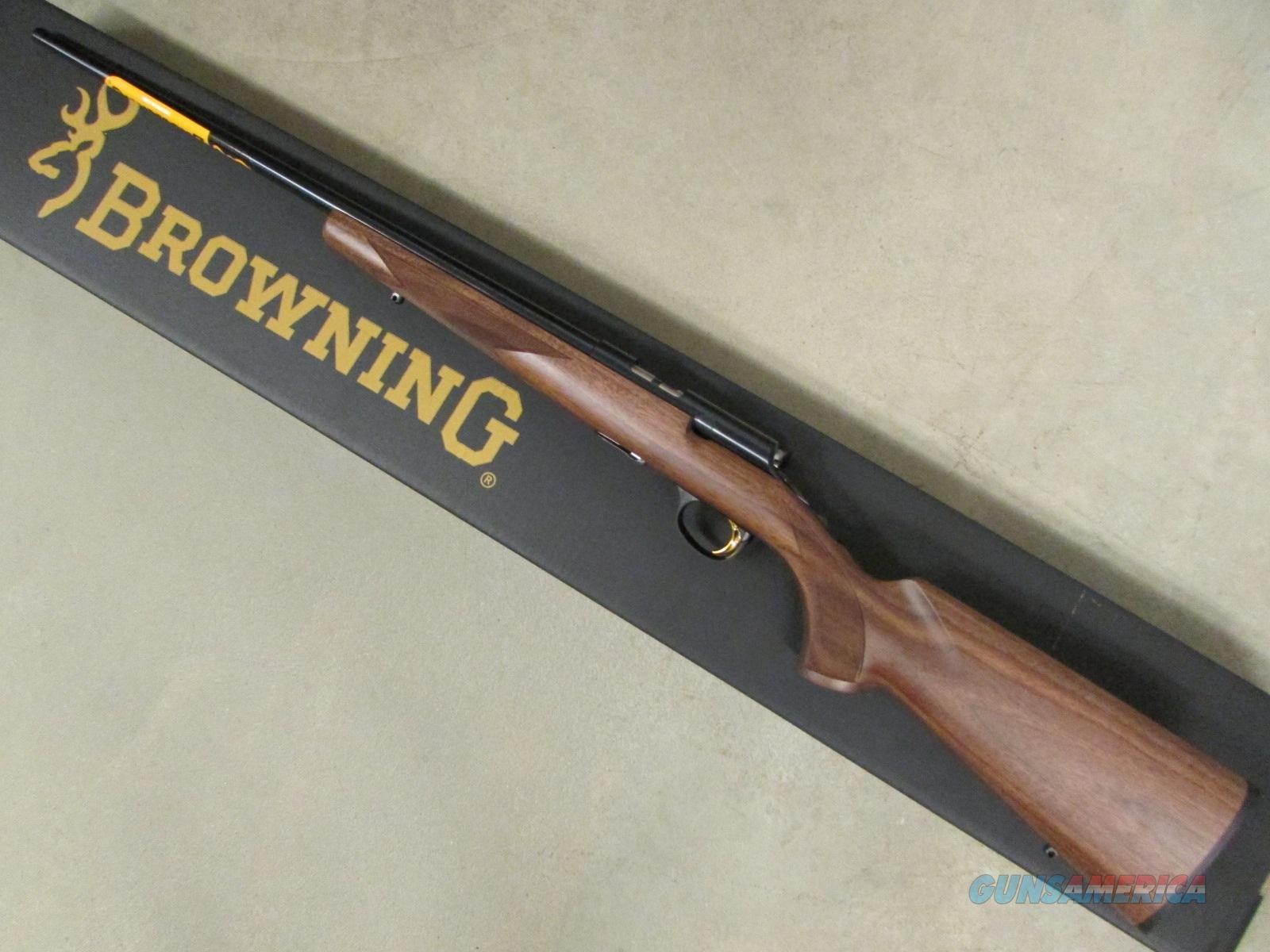 "Browning T-Bolt Sporter 22"" Blued Barrel .22 WMR  Guns > Rifles > Browning Rifles > Bolt Action > Hunting > Blue"