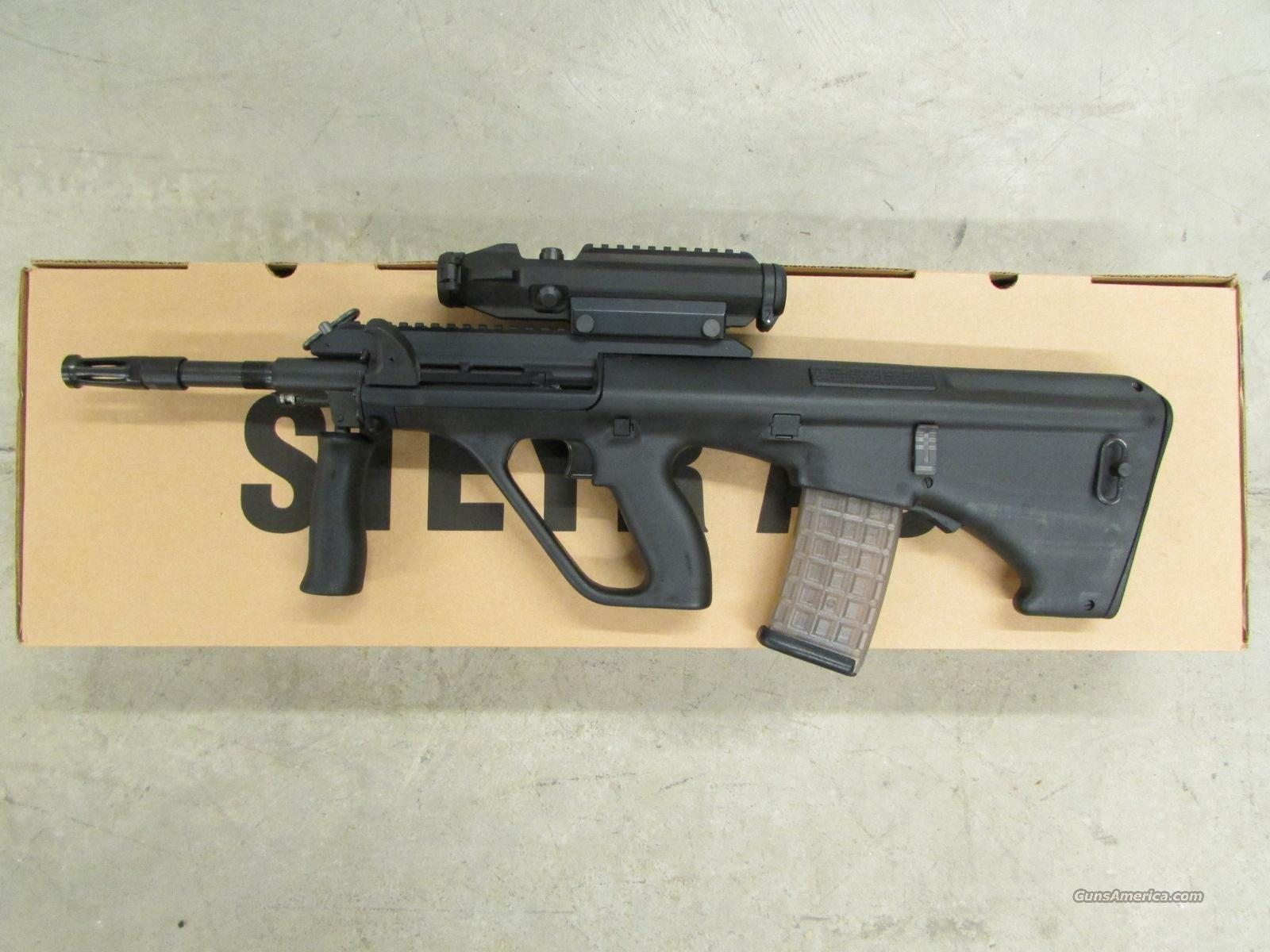 Steyr AUG A3 Bull-Pup Rifle with 1.5X Optic Package 5.56 NATO  Guns > Rifles > Steyr Rifles