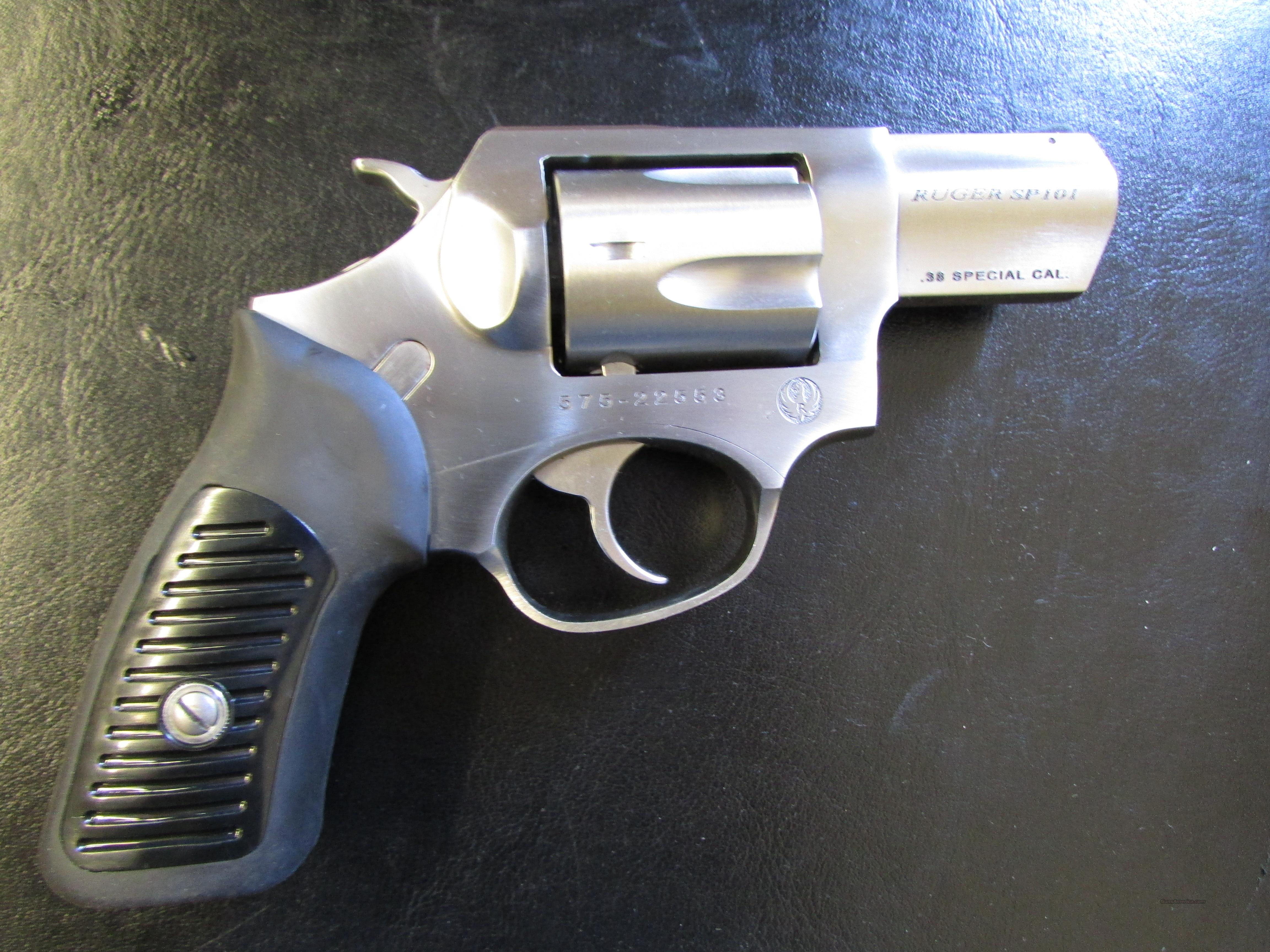 Ruger SP101 Double-Action .38 Special  Guns > Pistols > Ruger Double Action Revolver > SP101 Type
