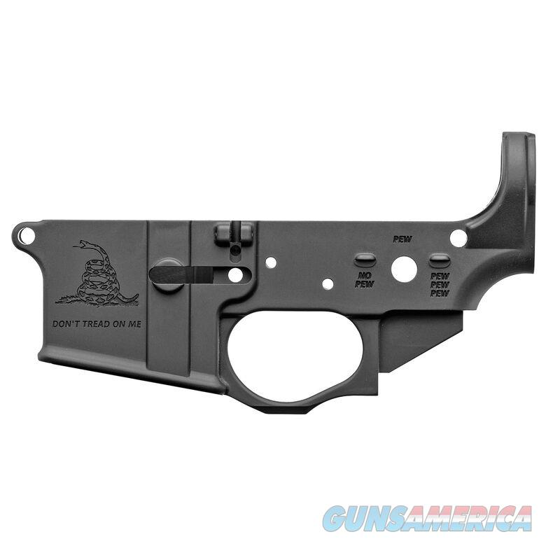 Spike's Tactical Gadsden Flag AR-15 Lower Receiver STLS034  Guns > Rifles > AR-15 Rifles - Small Manufacturers > Lower Only