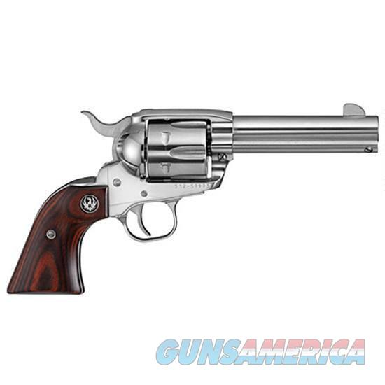 """Ruger Vaquero Stainless .357 Magnum 4.62"""" 6 Rds 5109   Guns > Pistols > Ruger Single Action Revolvers > Cowboy Action"""