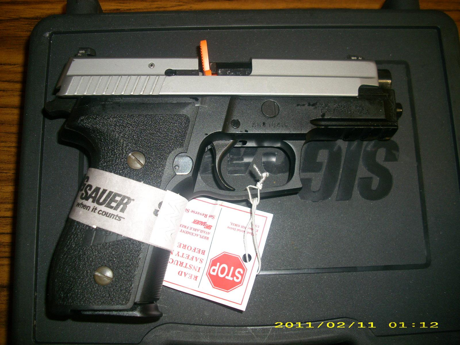 Sig Sauer P229R 9mm Two Tone  Guns > Pistols > Sig - Sauer/Sigarms Pistols > P229