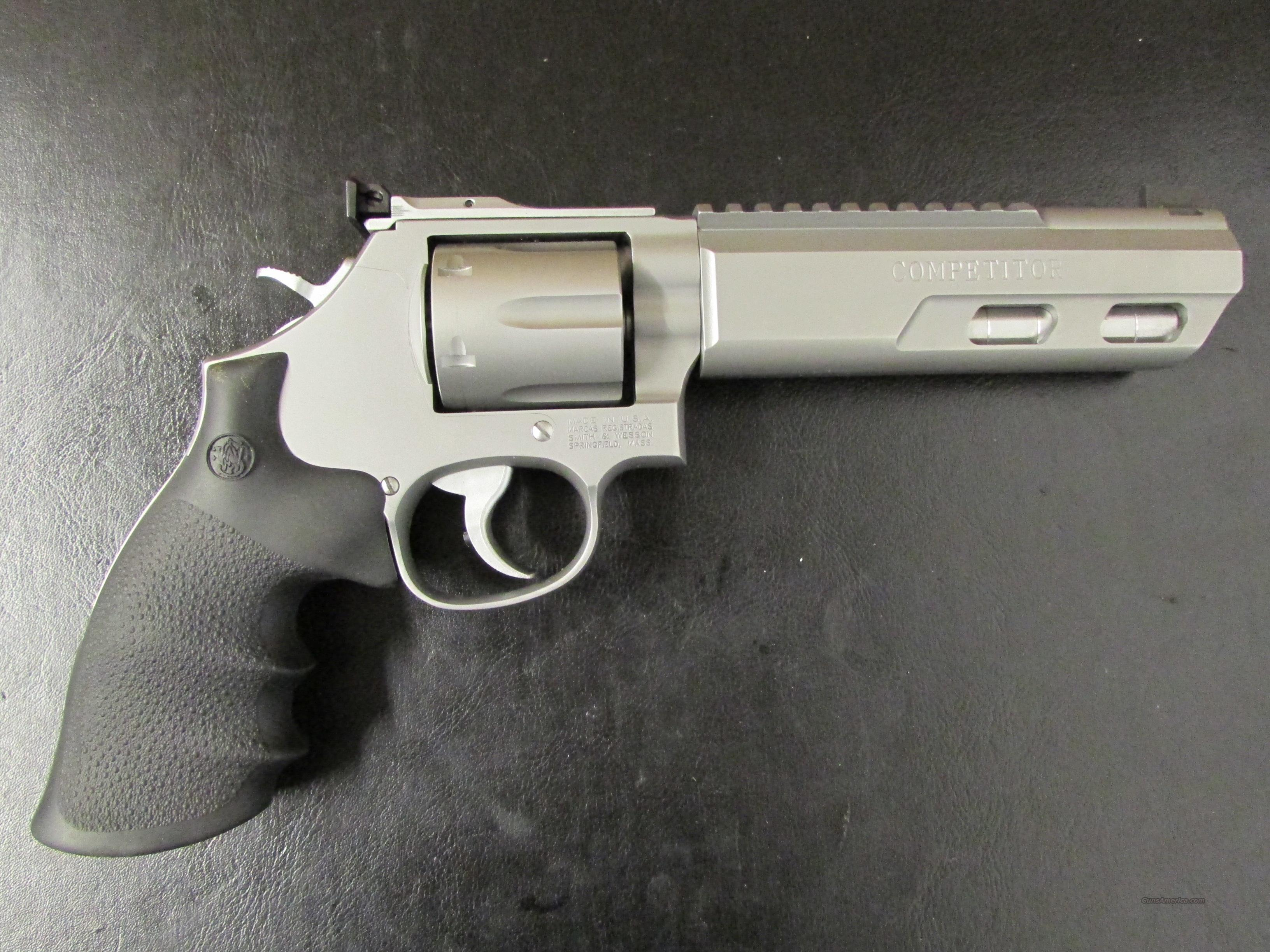 "Smith & Wesson Model 686 Competitor 6"" Weighted Barrel  Guns > Pistols > Smith & Wesson Revolvers > Performance Center"