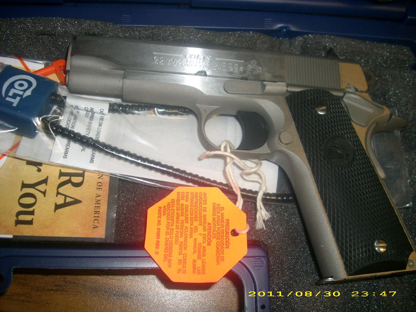 Colt Commander 45ACP 100 Years of Service  Guns > Pistols > Colt Automatic Pistols (1911 & Var)