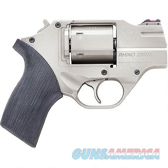 "Chiappa Rhino 200DS .357 Mag 2"" Nickel CF340.218   Guns > Pistols > Chiappa Pistols & Revolvers > Rhino Models"