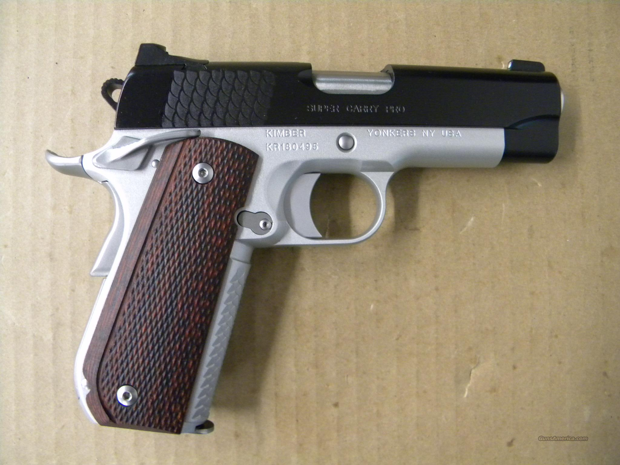 Kimber Super Carry Pro 1911 .45 ACP  Guns > Pistols > Kimber of America Pistols