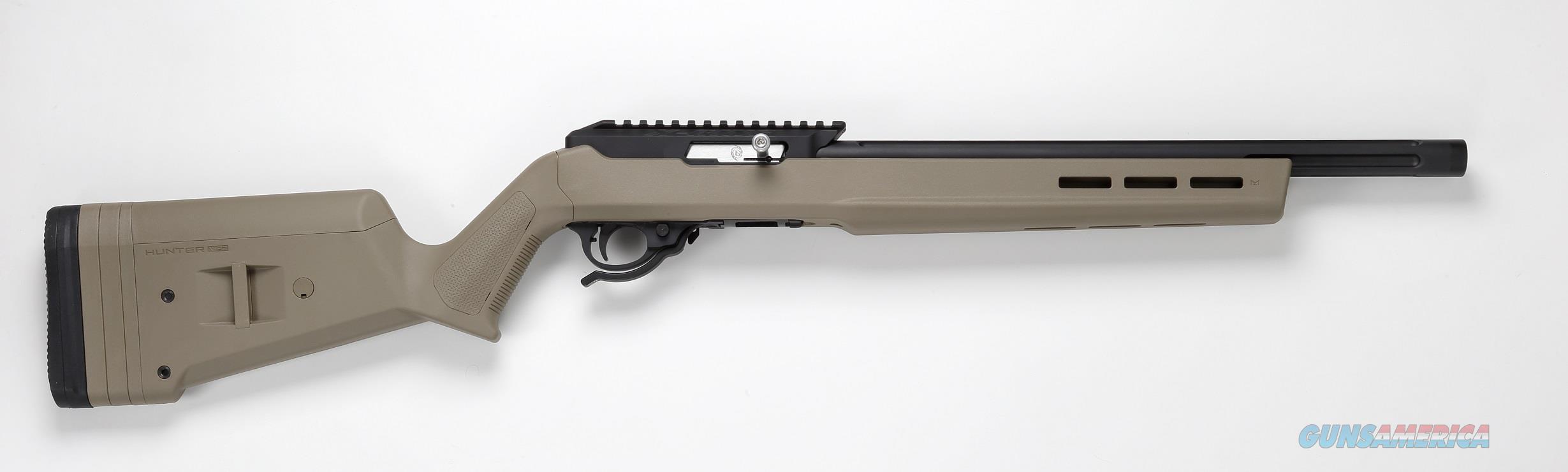 TACTICAL SOLUTIONS X-RING RIFLE MAGPUL HUNTER X-22 BLACK / FLAT DARK EARTH .22 LR 10/22 TE-MB-B-M-FDE  Guns > Rifles > Ruger Rifles > 10-22