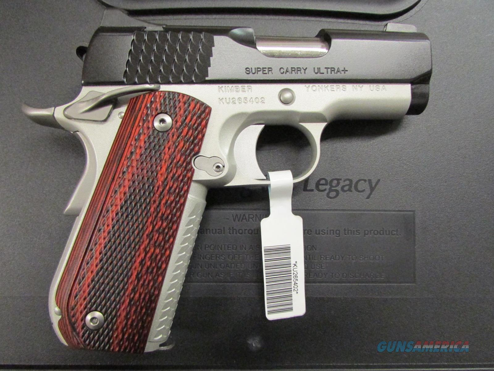 "Kimber Super Carry Ultra + 3"" 1911 .45 ACP 3000268   Guns > Pistols > Kimber of America Pistols"