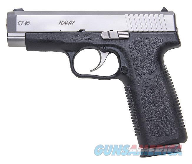 "Kahr Arms CT45 4.04"" .45 ACP 7 Rds Black/Stainless CT4543   Guns > Pistols > Kahr Pistols"