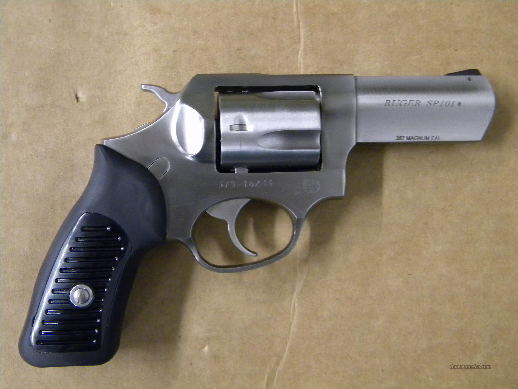 Ruger SP101 Stainless 5 Shot .357 Magnum  Guns > Pistols > Ruger Double Action Revolver > SP101 Type