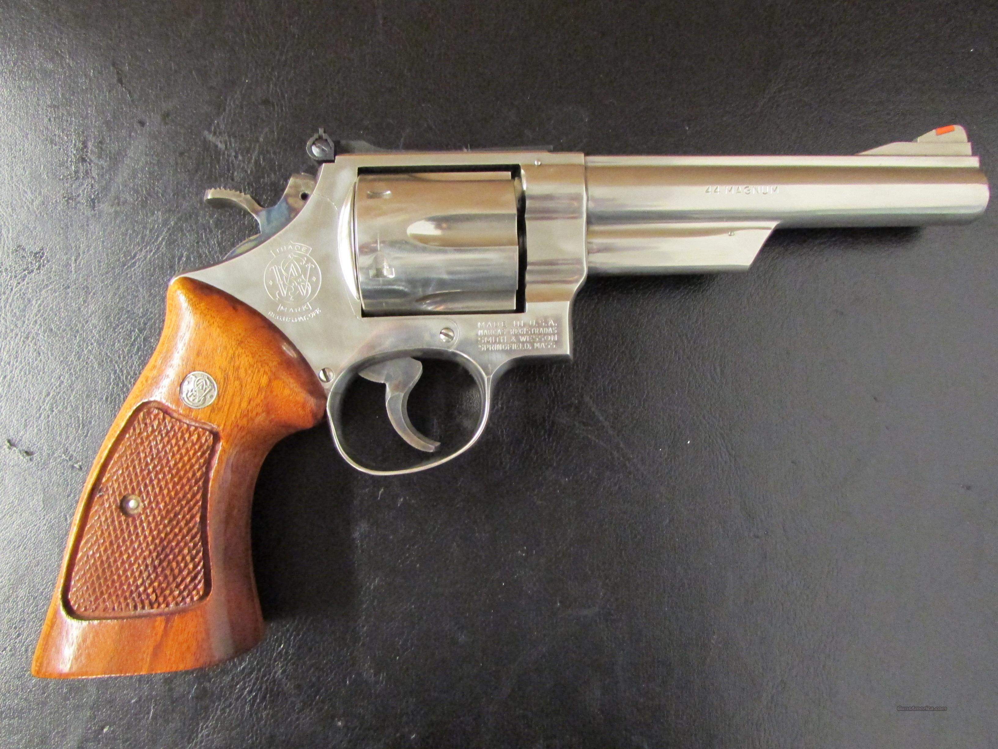 "1980 Smith & Wesson Model 29-2 Nickel 6"" .44 Magnum  Guns > Pistols > Smith & Wesson Revolvers > Full Frame Revolver"