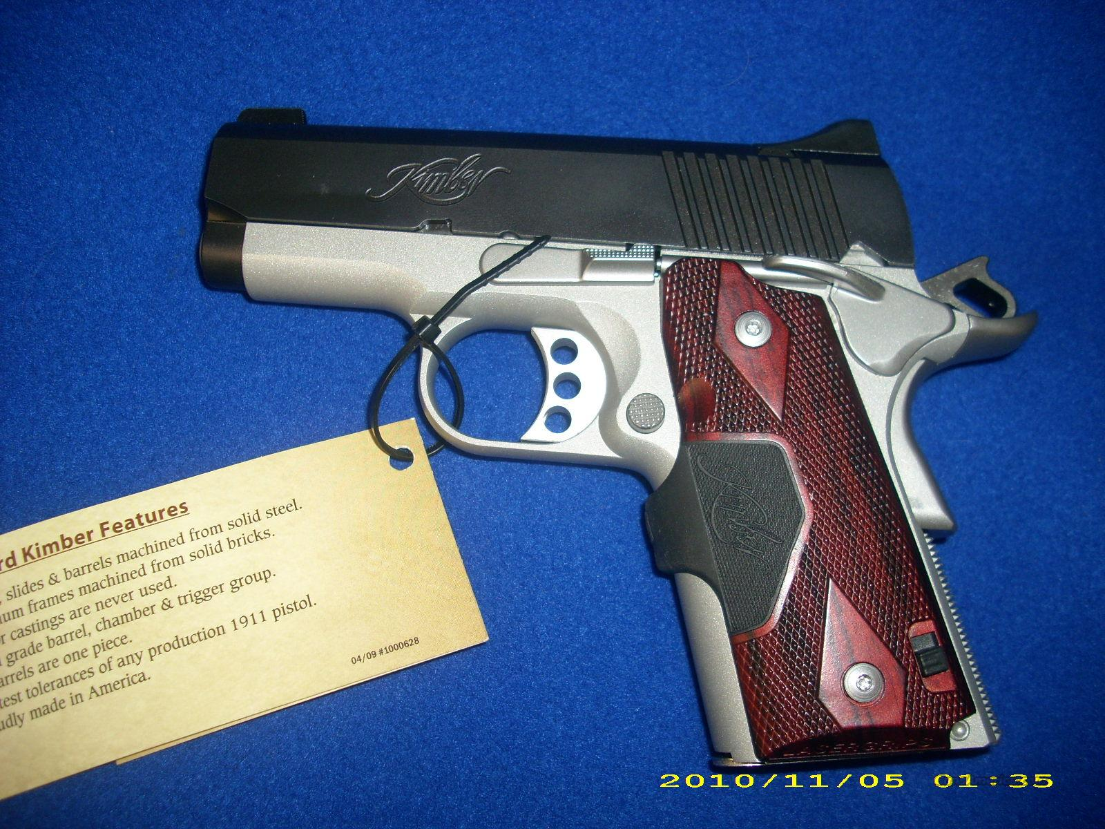 Kimber Ultra Crimson Carry 45ACP w/ Laser  Guns > Pistols > Kimber of America Pistols