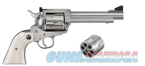 "Ruger New Model Blackhawk Convertible .45 Colt/.45 ACP 5.5"" SS 5241   Guns > Pistols > Ruger Single Action Revolvers > Blackhawk Type"