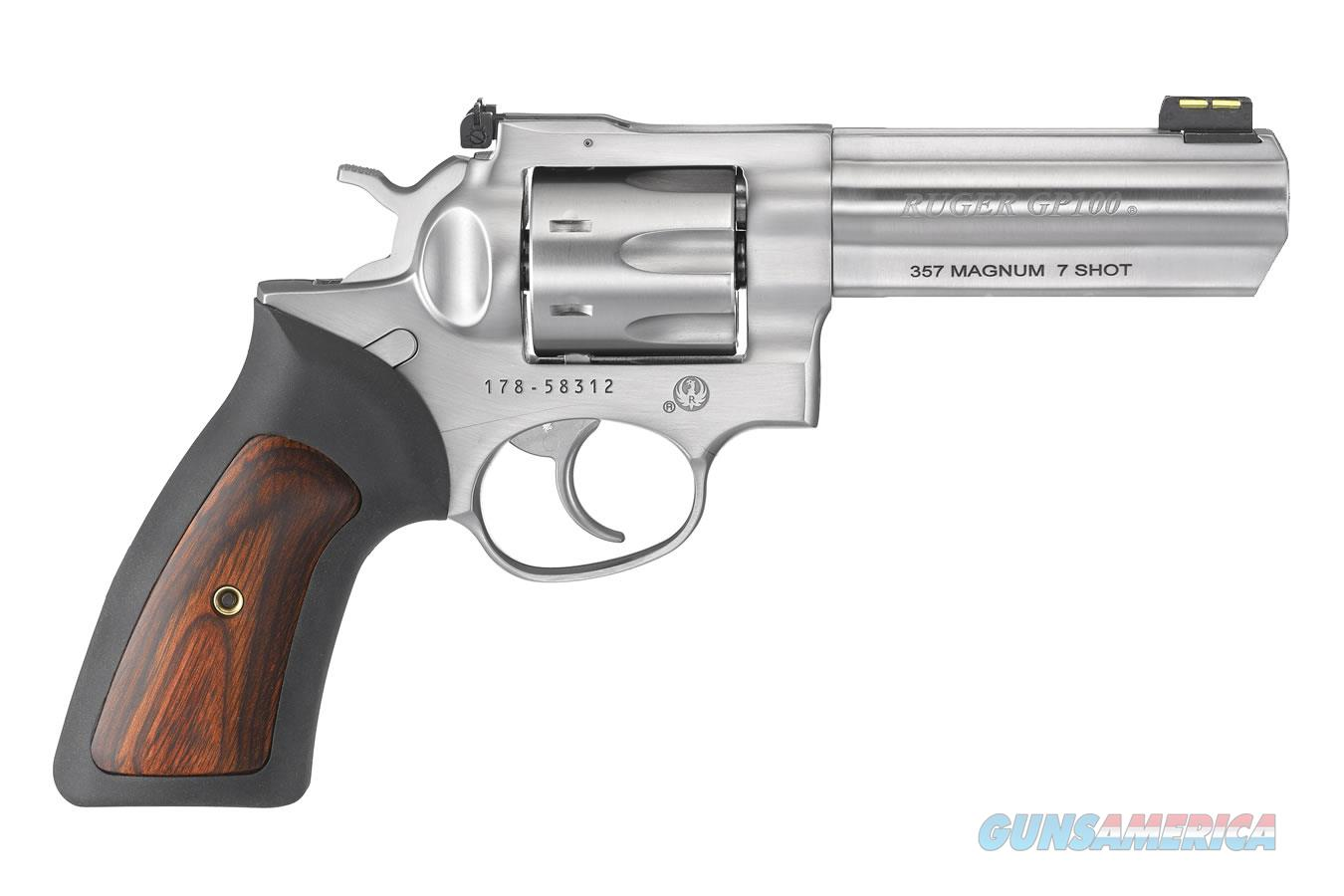 """Ruger GP100 .357 Magnum 4.2"""" SS 7 Rounds 1771   Guns > Pistols > Ruger Double Action Revolver > GP100"""