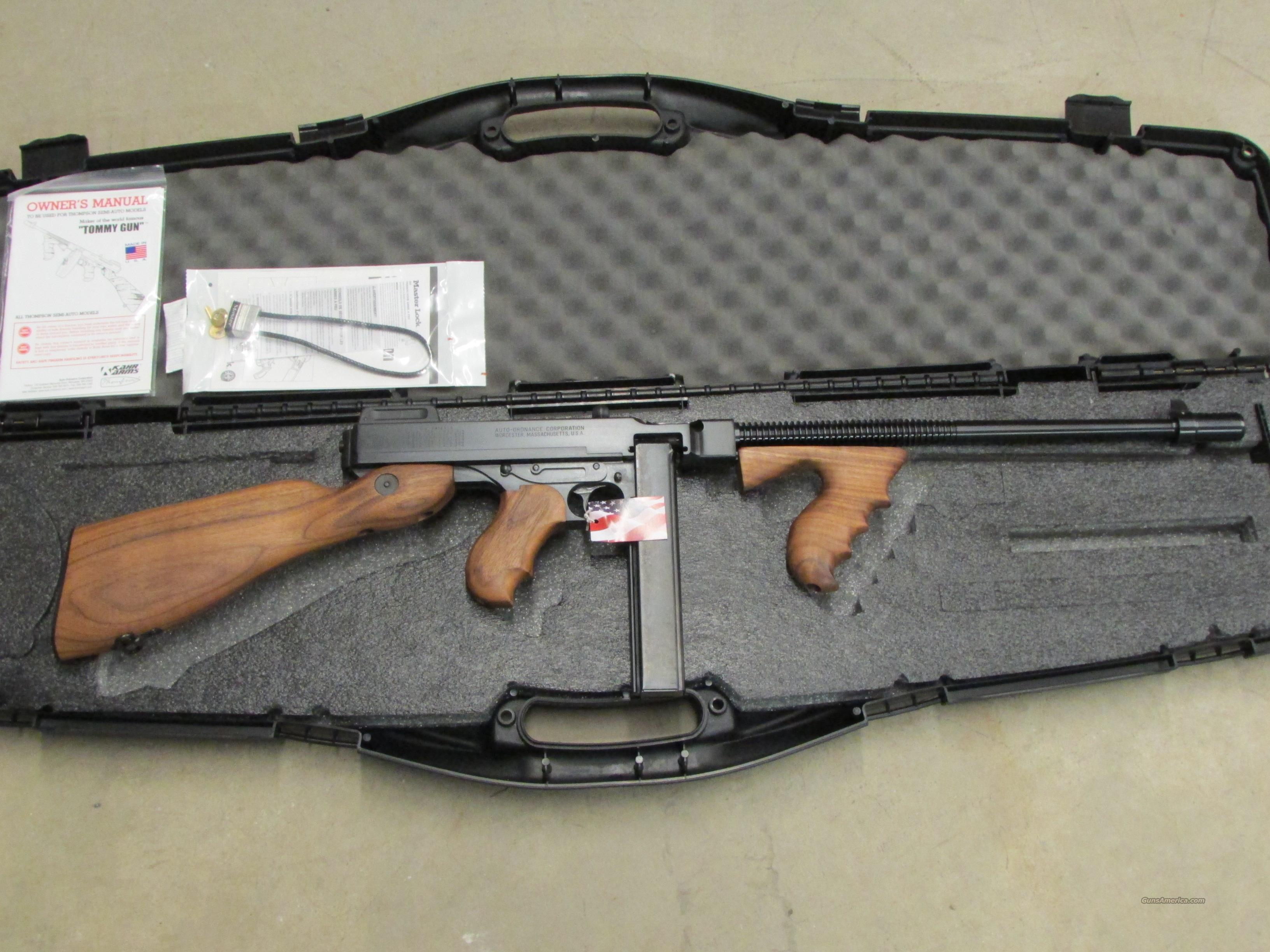 "Auto-Ordnance Thompson T1 .45 ACP Carbine 16.5""  Guns > Rifles > Thompson Subguns/Semi-Auto"