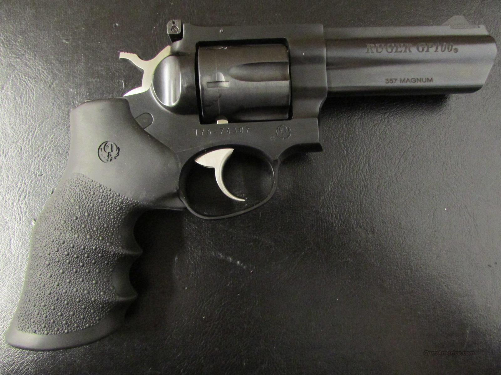 "Ruger GP100 Standard Blued 4.2"" .357 Magnum 1702  Guns > Pistols > Ruger Double Action Revolver > SP101 Type"