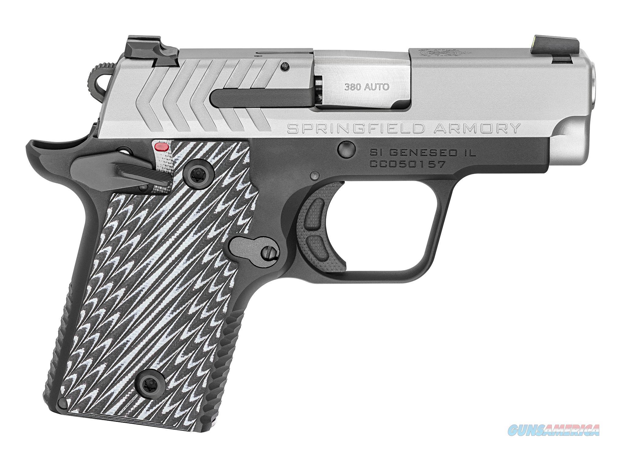 "Springfield 911 .380 ACP 2.7"" Stainless Bi-Tone PG9109S   Guns > Pistols > Springfield Armory Pistols > 1911 Type"