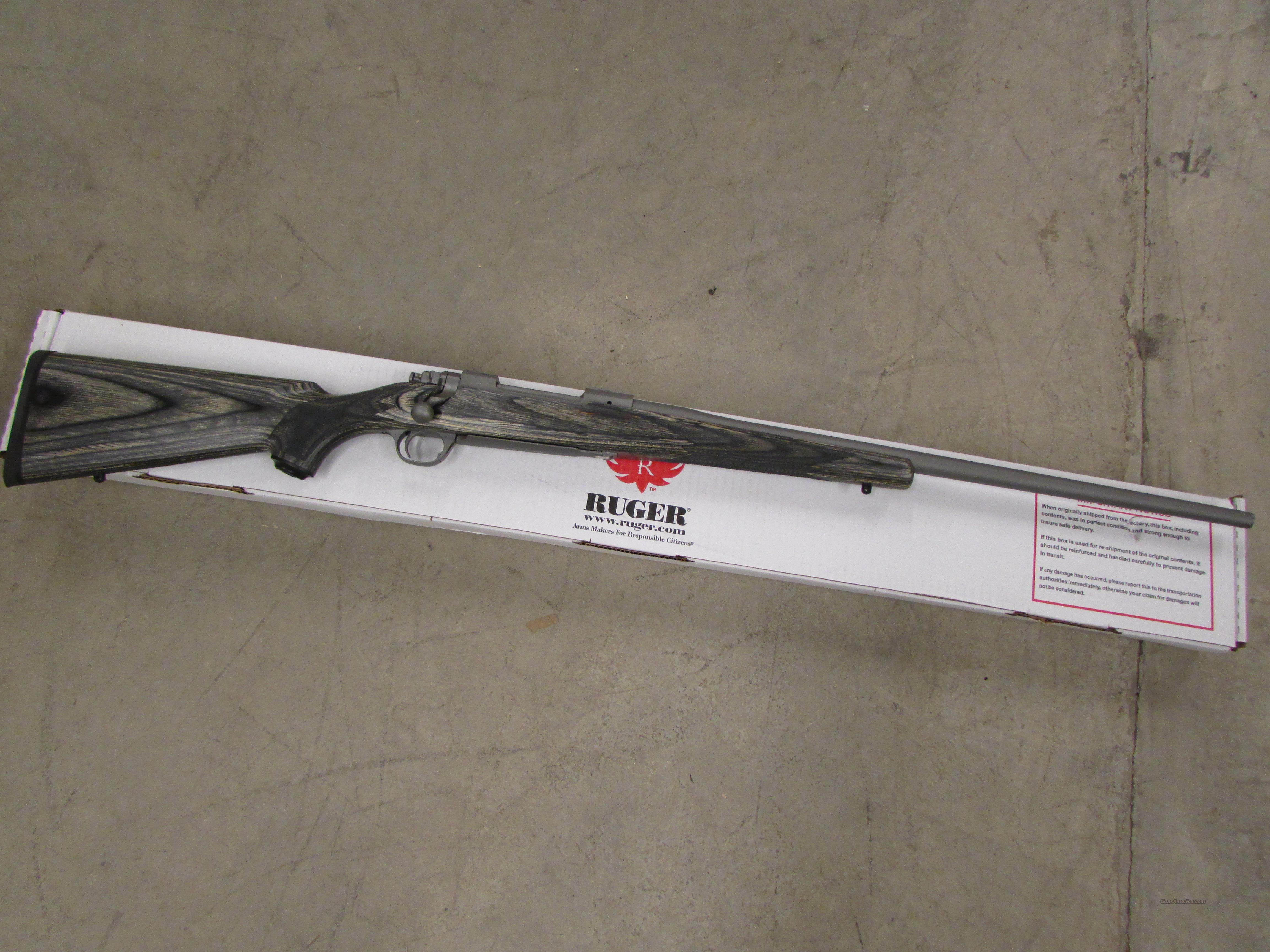 "Ruger M77 Hawkeye Stainless Laminate .300 Win. Magnum 24""  Guns > Rifles > Ruger Rifles > Model 77"