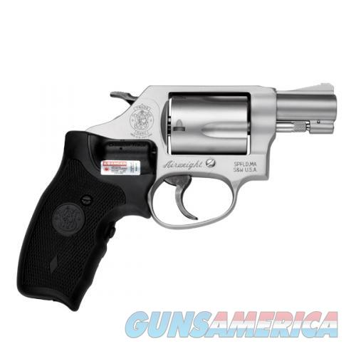 Smith & Wesson Model 637 CT Crimson Trace AirWeight .38 Special +P 163052  Guns > Pistols > Smith & Wesson Revolvers > Pocket Pistols