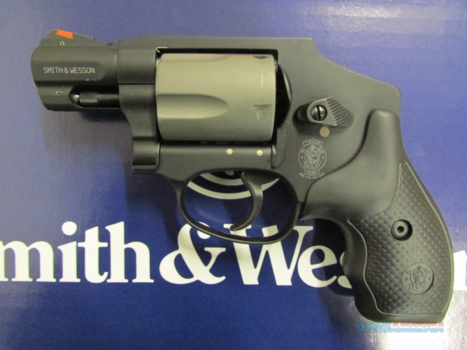 "Smith & Wesson Model 340PD 1.87"" Red Ramp Sight .357 Magnum 103061  Guns > Pistols > Smith & Wesson Revolvers > Full Frame Revolver"