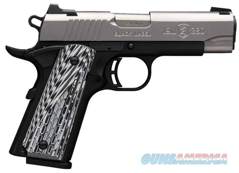 Browning 1911-380 Black Label Pro Compact 051924492  Guns > Pistols > Browning Pistols > Other Autos