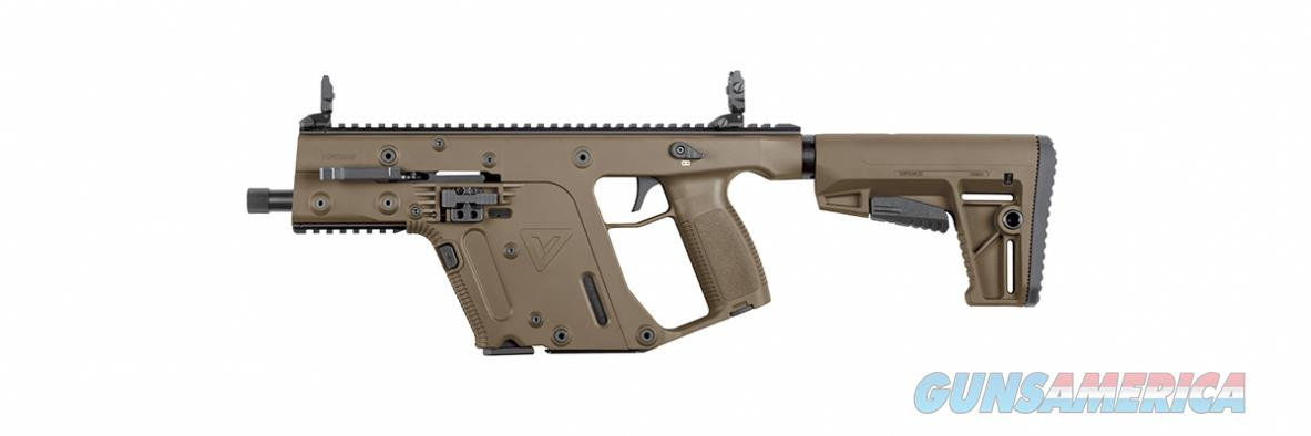 KRISS VECTOR Gen II SBR 10mm AUTO FDE KV10-SFD20  Guns > Rifles > Class 3 Rifles > Class 3 Subguns