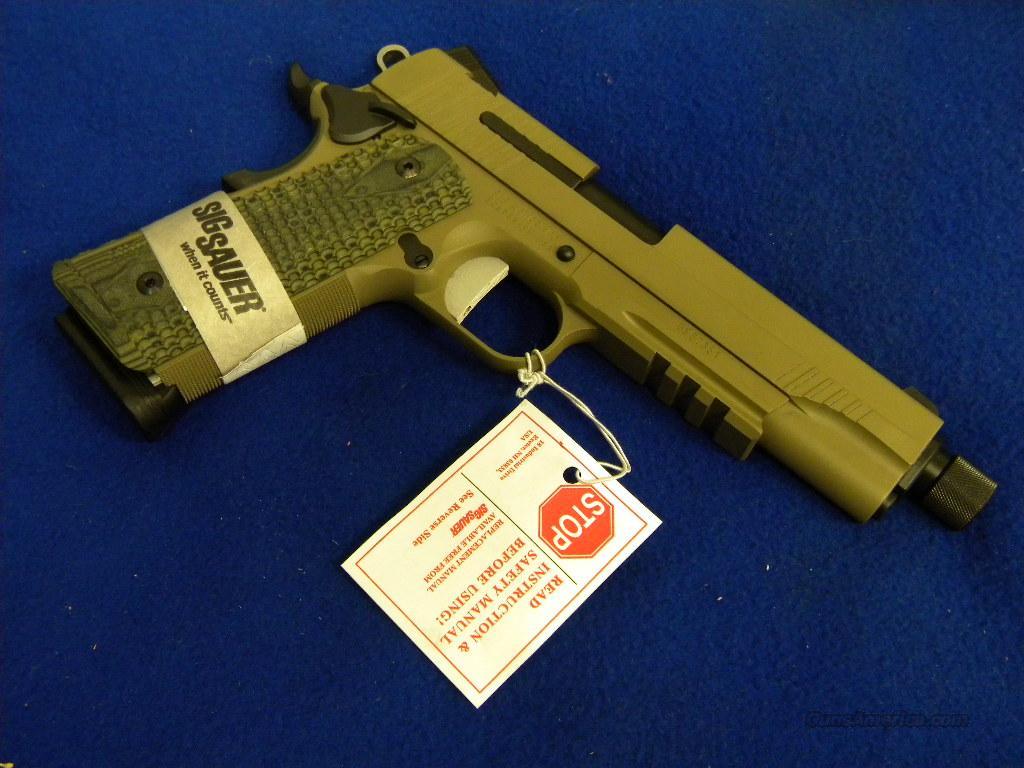 New in Box Sig Sauer 1911R Scorpion .45acp  Guns > Pistols > Sig - Sauer/Sigarms Pistols > 1911