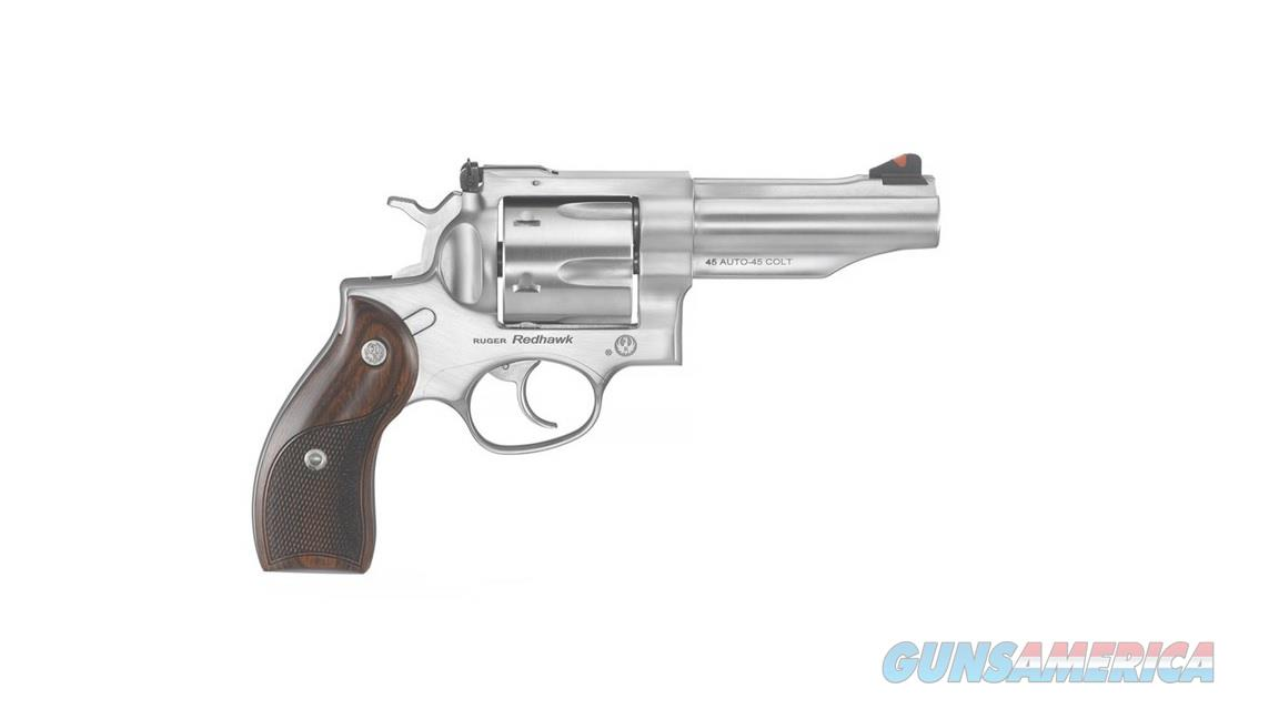 "Ruger Redhawk .45 ACP/.45 Colt 4.2"" SS 6 Rds 5032  Guns > Pistols > Ruger Double Action Revolver > Redhawk Type"