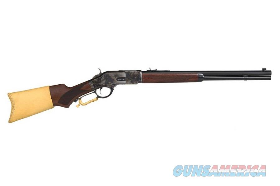 "Taylor's & Co. 1873 Comanchero .45 LC 20"" Walnut 2044COM  Guns > Rifles > Taylors & Co. Rifles > Winchester Lever Type"