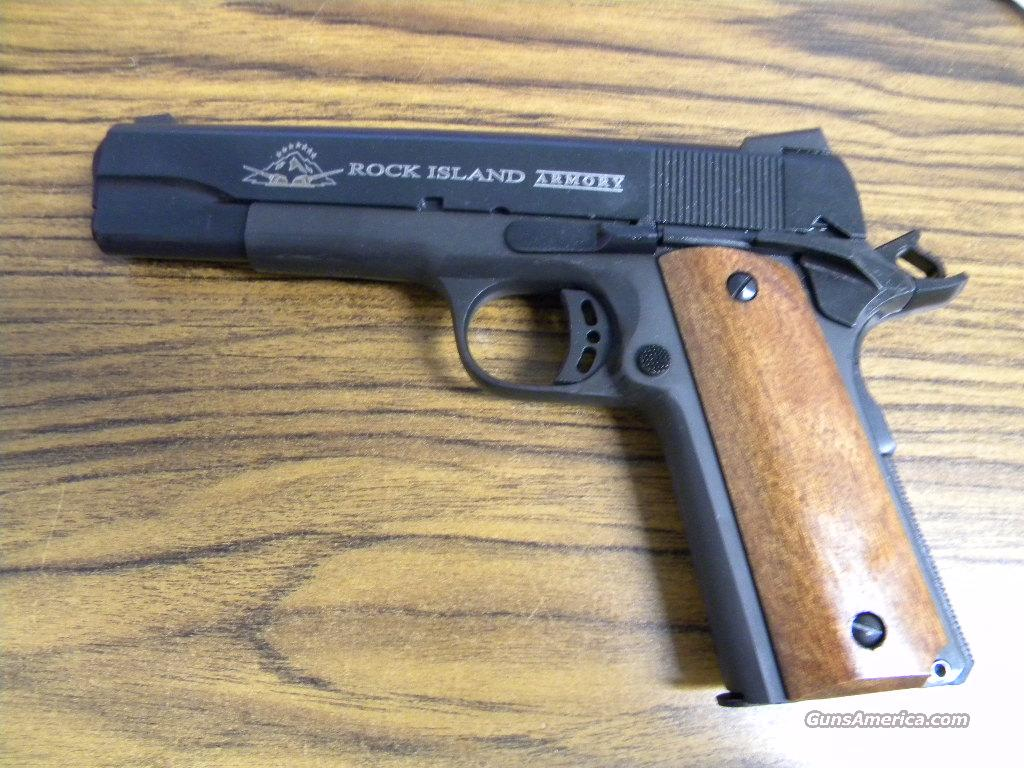 "Rock Island M1911 A1 FS Tactical 9mm 5"" #51632  Guns > Pistols > Armscor Pistols"