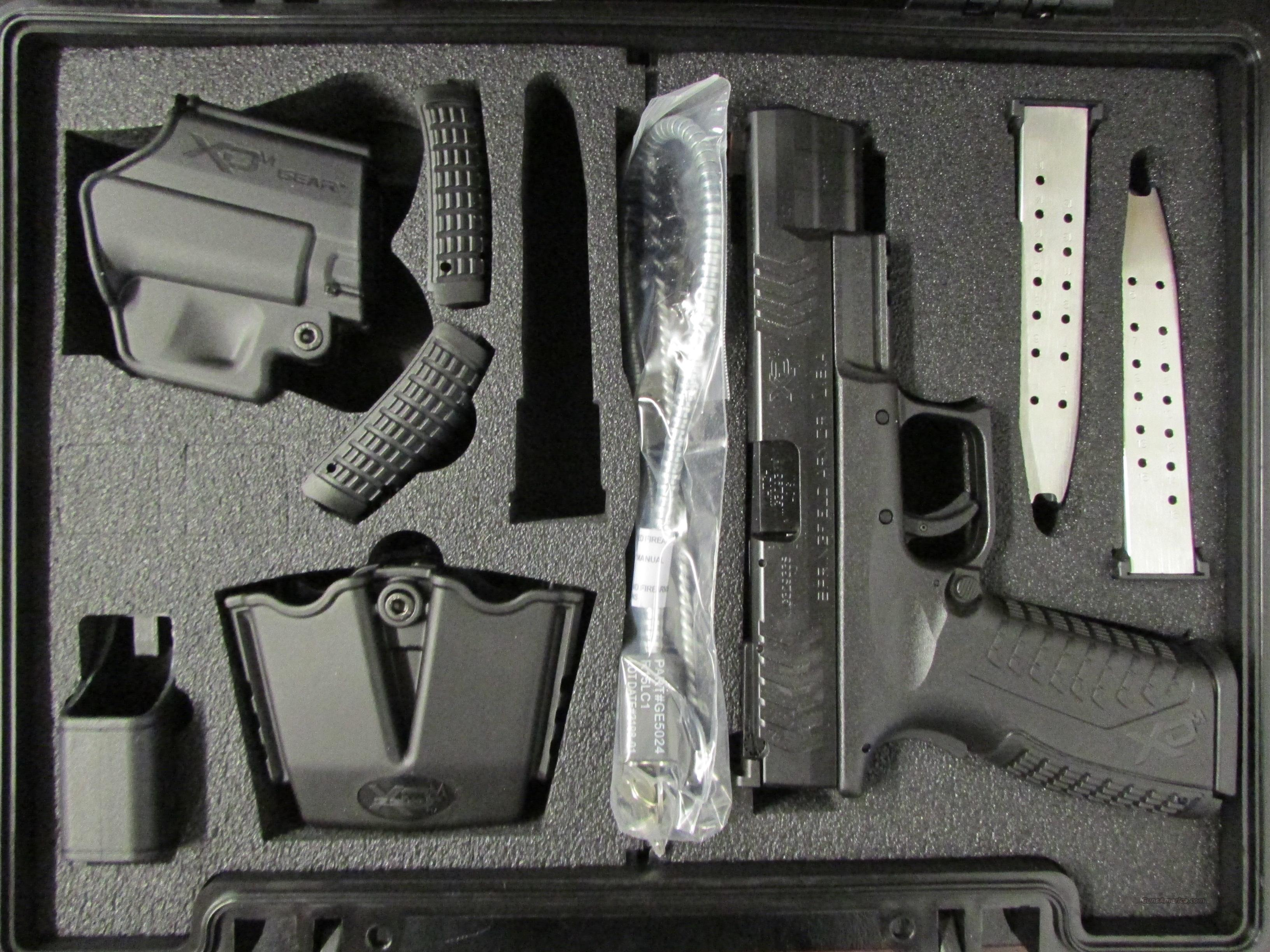 "Springfield Armory XDM Competition 5.25"" .40 Smith & Wesson  Guns > Pistols > Springfield Armory Pistols > XD-M"