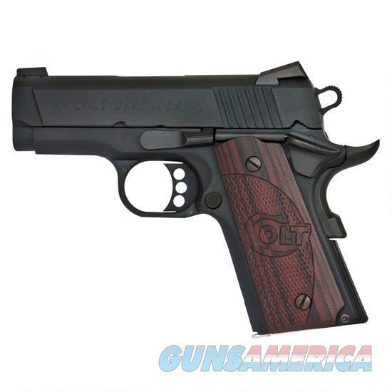 "Colt Defender 9mm 3"" Black 8 Rounds Novak O7802XE   Guns > Pistols > Colt Automatic Pistols (1911 & Var)"
