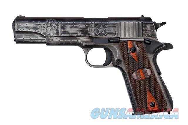 "Auto-Ordnance 1911A1 WW2 Victory Girls .45 ACP 5"" 1911BKOWC1  Guns > Pistols > Auto Ordnance Pistols"