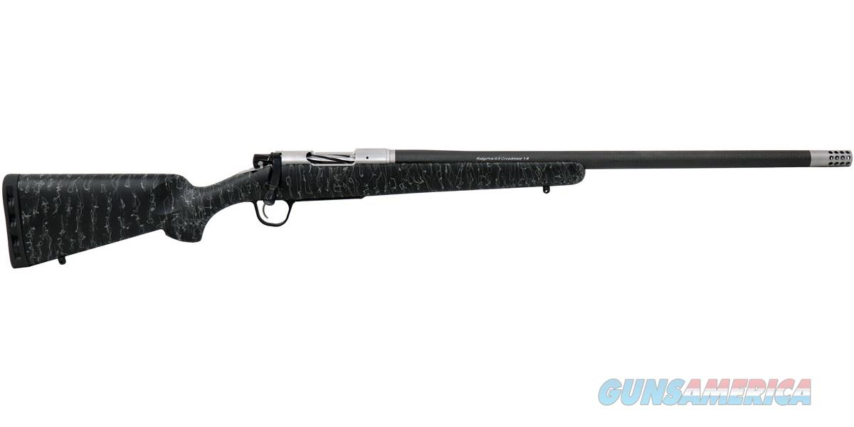"Christensen Arms Ridgeline 6.5 Creedmoor 24"" Black/Gray Webbing CA10299-H14211   Guns > Rifles > Custom Rifles > Bolt Action"
