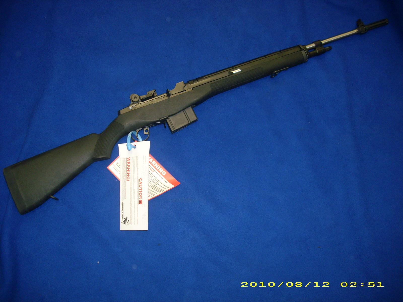 Springfield M1A Loaded MA9826  Guns > Rifles > Springfield Armory Rifles > M1A/M14
