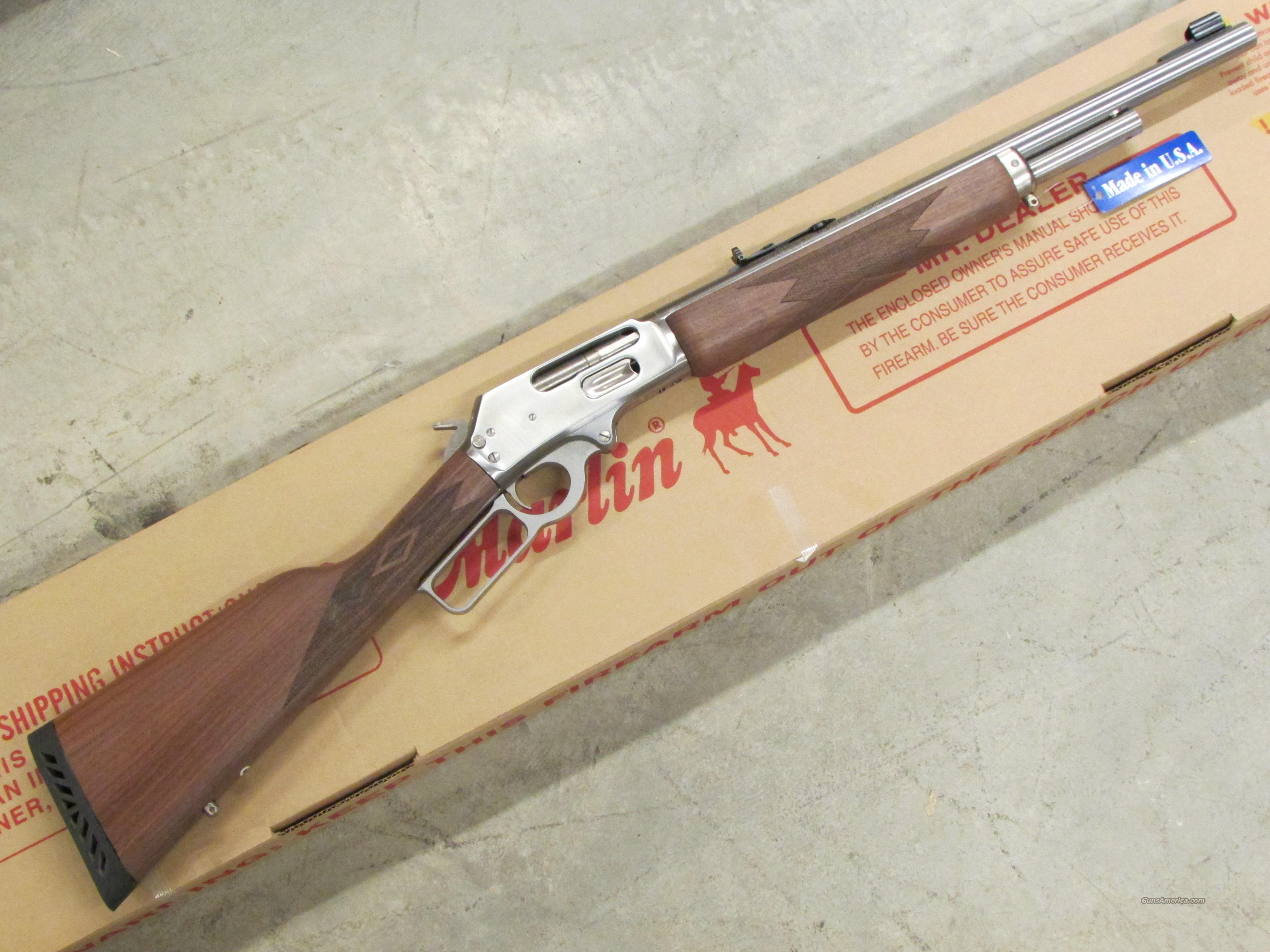 "Marlin Model 1895GS Stainless 18.5"" .45-70 Gov't  Guns > Rifles > Marlin Rifles > Modern > Lever Action"