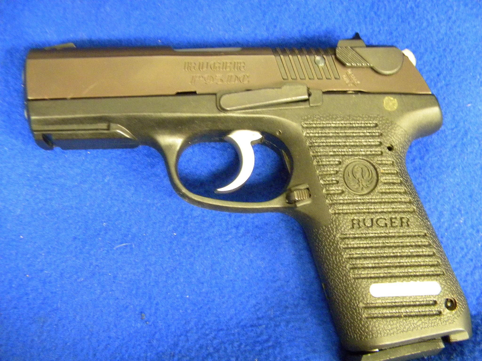 Used Ruger P95 9mm  Guns > Pistols > Ruger Semi-Auto Pistols > P-Series