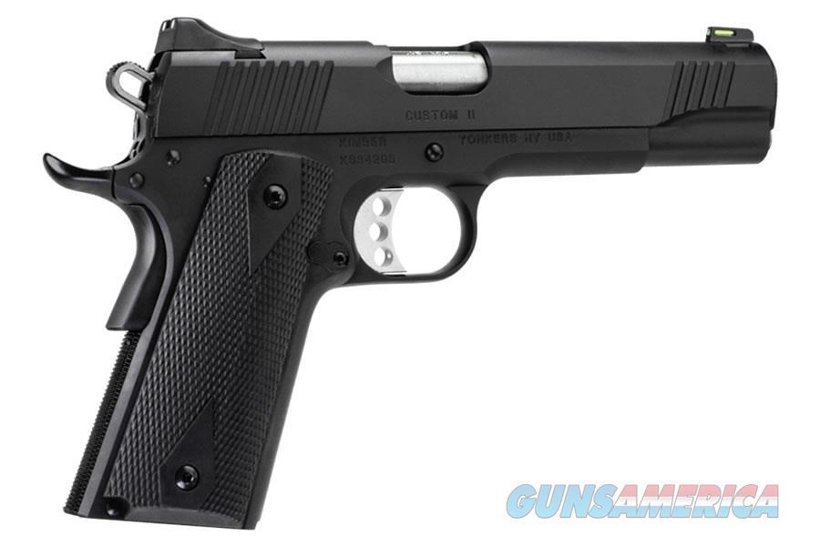 "Kimber Custom II GFO .45 ACP 5"" Black 8 Rd Tac-Mag 3700549  Guns > Pistols > Kimber of America Pistols > 1911"