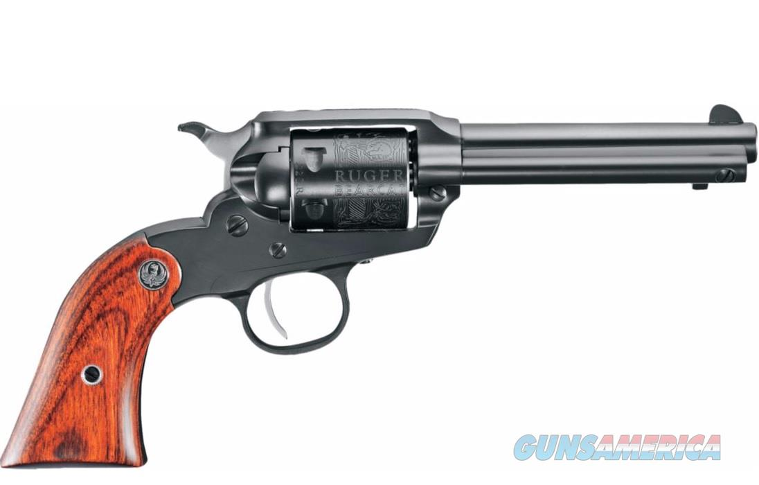 "Ruger Bearcat 4.2"" Blued Single-Action .22 LR 0912  Guns > Pistols > Ruger Single Action Revolvers > Bearcat"