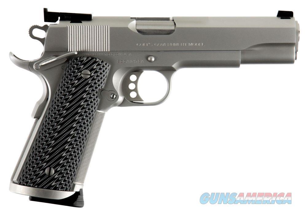 """Colt Special Combat Government Competition .45 ACP Chrome 5"""" O1970CM  Guns > Pistols > Colt Automatic Pistols (1911 & Var)"""